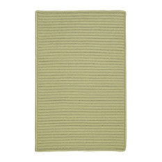 Colonial Mills, Inc - Colonial Mills Simply Home Solid Celery Square 12' Area Rug - Outdoor Rugs