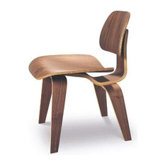 Nuevoliving   Helena Lounge Chair In Walnut Finish   Armchairs And Accent  Chairs