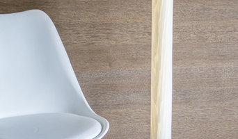 Furnier Stehleuchte 10/160 LED Bi-Colour Stripes