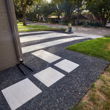 Barton Hills Contemporary Curb Appeal