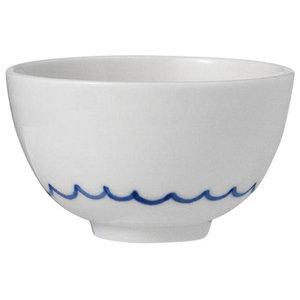 Anne Black Kyst Bowl, Blue Waves, Small