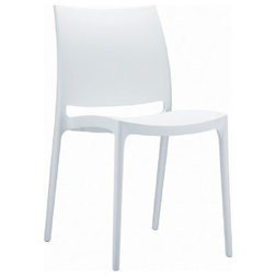 Contemporary Outdoor Dining Chairs by The Mine