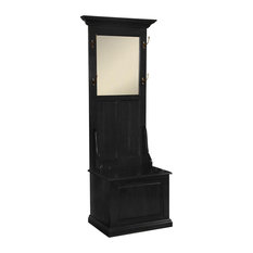 Evelyn Hall Tree in Black Finish