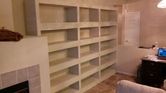 Custom Bookcase/Entertainment Center