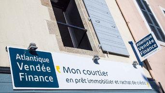 Le siège d'Atlantique Vendée Finance