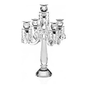 5 Light Candelabra With Drops