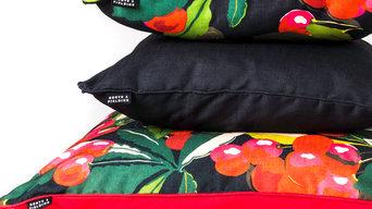 Indoor-outdoor comfy cushions