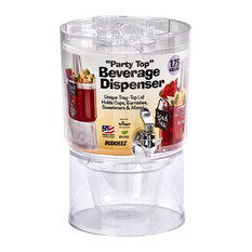Buddeez 14402-Rtl Party Top Beverage Dispenser, 1.75 Gallon