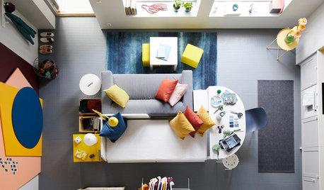 5 sätt att möblera öppna vardagsrum