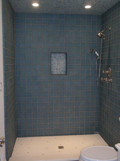 Are Penny Tiles To Slippery On The Shower Floor