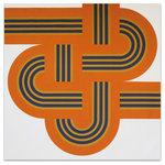 """Graphilia - """"Weave"""" Artwork - Original 1973 serigraph by Reis & Manwaring."""