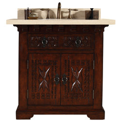 Trend Mediterranean Bathroom Vanities And Sink Consoles by Corbel Universe