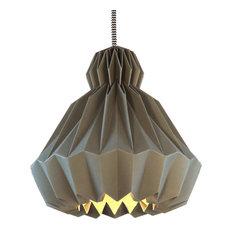 Droobski DressedUp Pendant Lamp, Anthracite Grey, Medium