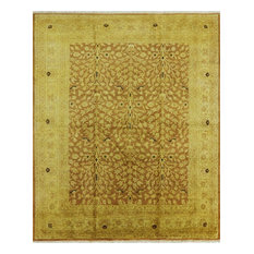 8'x10' Tree of Life Oriental Peshawar Hand Knotted Wool Rug, W1156