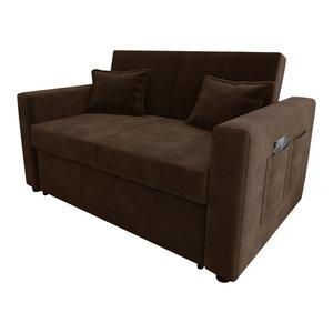 Ravena Chenille Fabric Sofa Bed