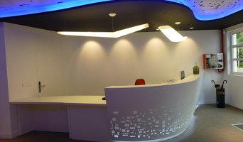 Recepción de oficinas en Igara