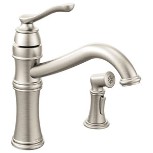 Delta Cassidy Single Handle Pull Out Kitchen Faucet