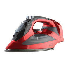 Brentwood Mpi-59R Red Steam Iron With Retractable Cord, Red