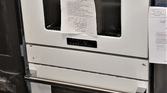White Double Wall Oven