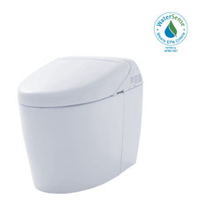 Toto NEOREST RH 2-Flush 1/.8GPF Toilet, Bidet Seat and EWATER+ Colonial White