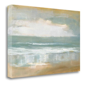 """Shoreline"" By Caroline Gold, Giclee Print on Gallery Wrap Canvas, Ready to Hang"