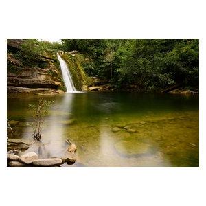 """Magic Pond"" Photo Print, Canvas Print, 60x40 cm"