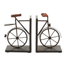 Black Iron Traditional Bookends, 9x7x5