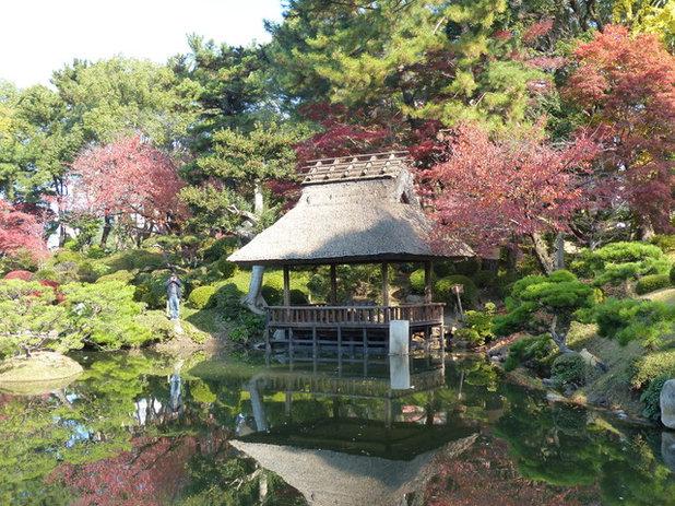 Shukkei-en garden in Hiroshima, Japan