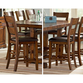 Steve Silver Zappa 9 Piece Counter Height Set With Leaf