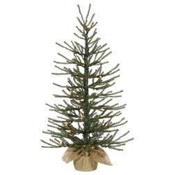 Farmhouse Christmas Trees by Vickerman Company