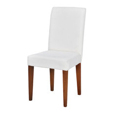 ELK Group International   Sterling 7011117 Couture Covers Parsons Chair In  New Signature Stain   Slipcovers