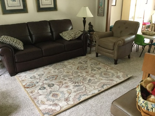 Square Area Rug 6x6 For Small Living Room