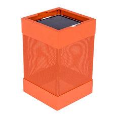 La Lampe Pose Solar Outdoor Lamp, Orange