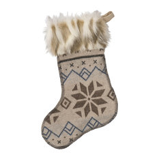 Wooded River Inc - Christmas Stocking 14x20- Neiva - Christmas Stockings and Holders