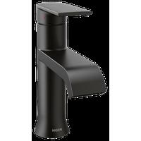 Moen Genta Single Hole Modern Bathroom Sink Faucet, Matte Black