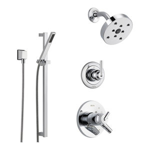 Delta Trinsic Collection Chrome Finish Custom Shower System SS175981