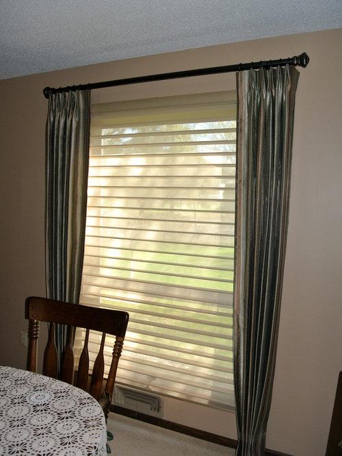 Custom Drapes - Window Treatments