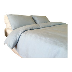 French Blue Bedding, Full/Queen, 3-Piece Set