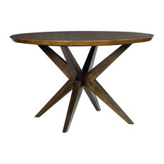 Most Popular Midcentury Modern Dining Room Tables For Houzz - Mid century pedestal dining table