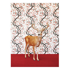"""""""Deeron Floral Pattern"""" Canvas Wall Art by Catherine Ledner, 10""""x14"""""""