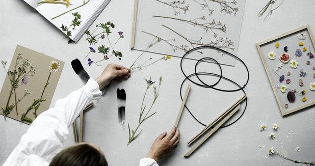 9 kreative deko ideen f r trockenblumen und getrocknete. Black Bedroom Furniture Sets. Home Design Ideas