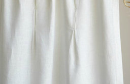 Eileen Fisher Pintucked Curtain Panels