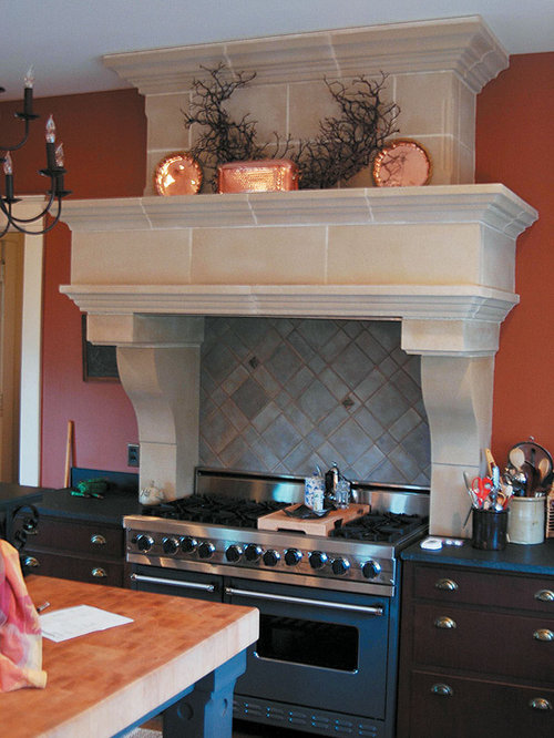Tuscany Cast Stone Kitchen Range Hood   Range Hoods And Vents