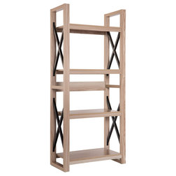 Industrial Bookcases by International Image & Canvas