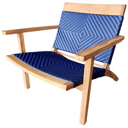 Tropical Outdoor Lounge Chairs by Chic Teak