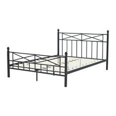 Lafayette Metal Platform Bed, Queen