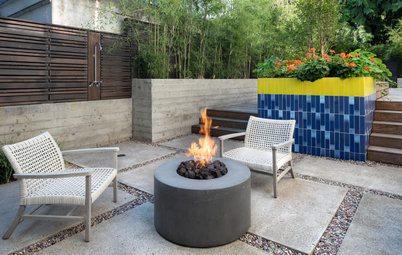 Patio of the Week: Kitchen's Cheerful Palette Goes Outside