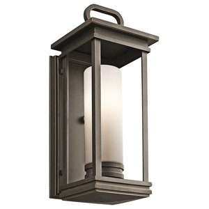 South Hope Bronze Wall Lantern, Large