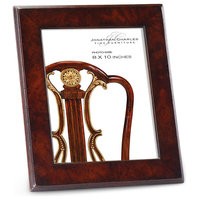 "8""x10"" Stepped Mahogany Picture Frame"