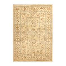 """ALRUG Handmade Tan Oriental  Oushak Rug, 4' 7"""" x 6' 7"""""""
